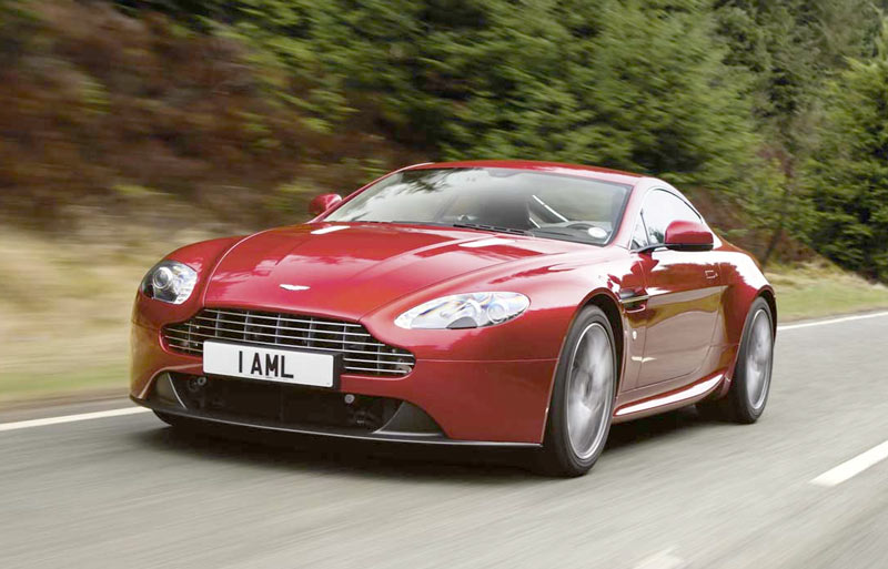 Aston Martin Blow Mouldings