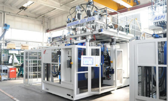 Latest high temp multi-axis moulding technology