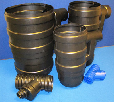 Blow Moulded Plastic Gulleys