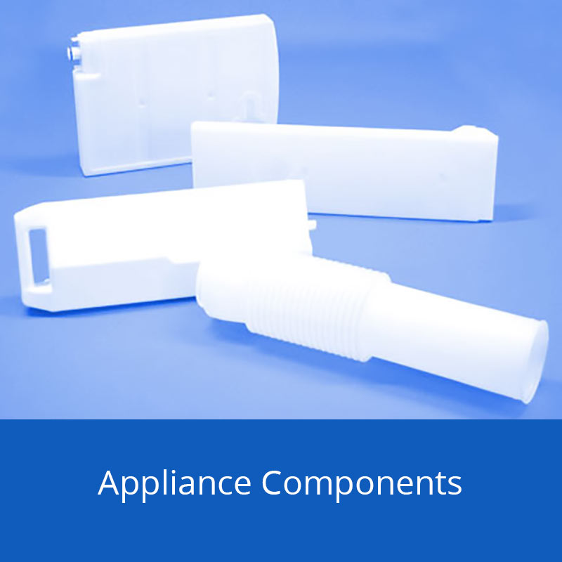 Blow Moulded Appliance Components